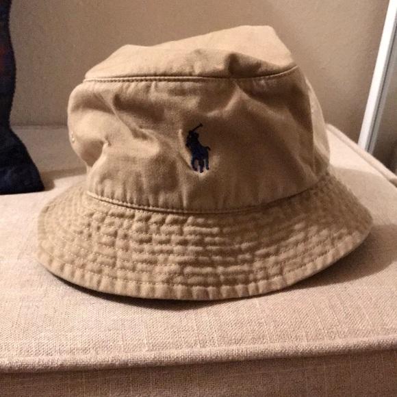 Polo Ralph Lauren Men s Bucket Hat Tan Khaki L XL.  M 5a7269ea2ae12fbc4d2a7ded 6c3937e0dc1